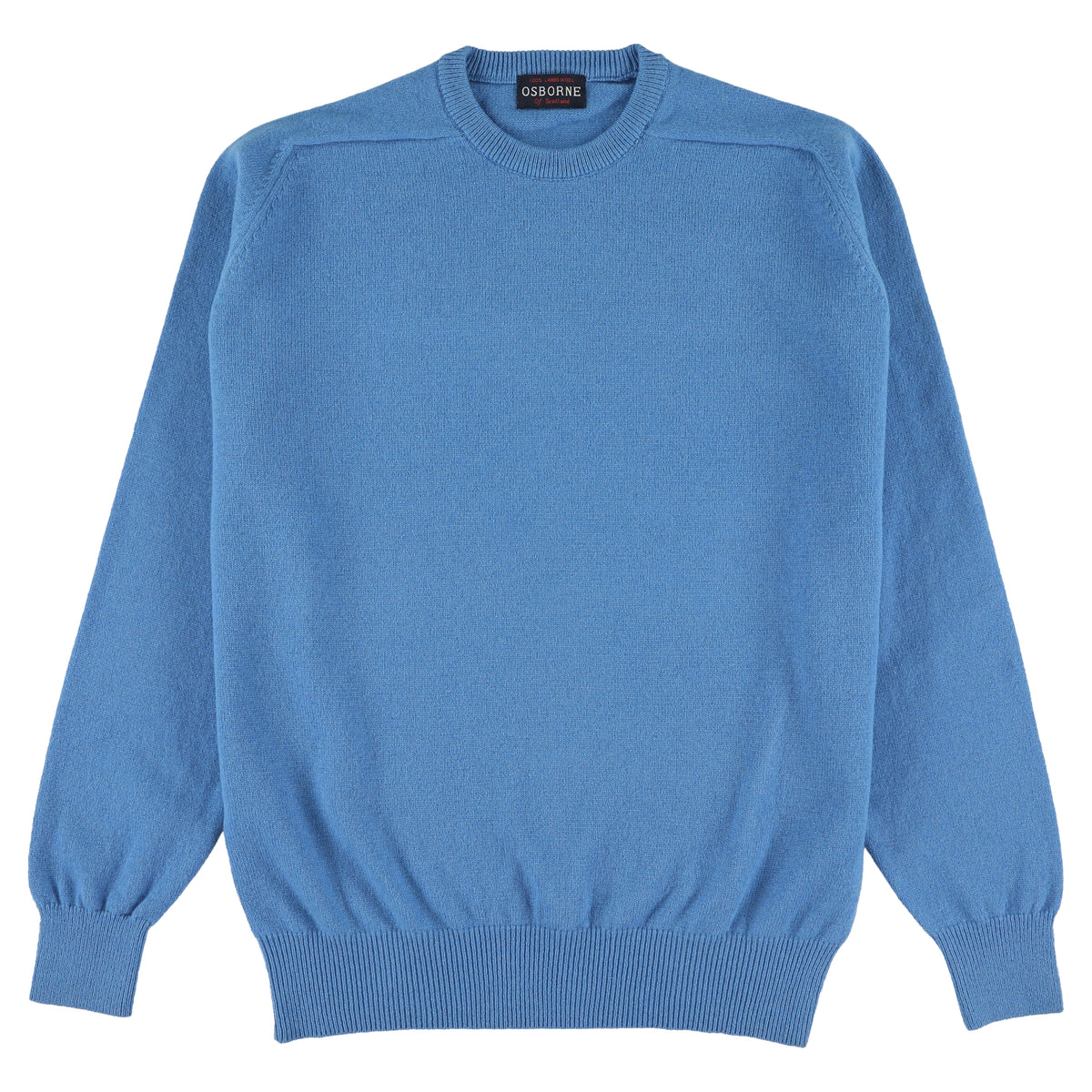 "Lambswool crew neck ""Key West"""