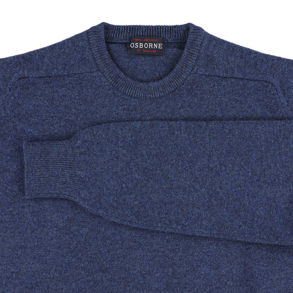 "Lambswool crew neck ""Rhapsody"""