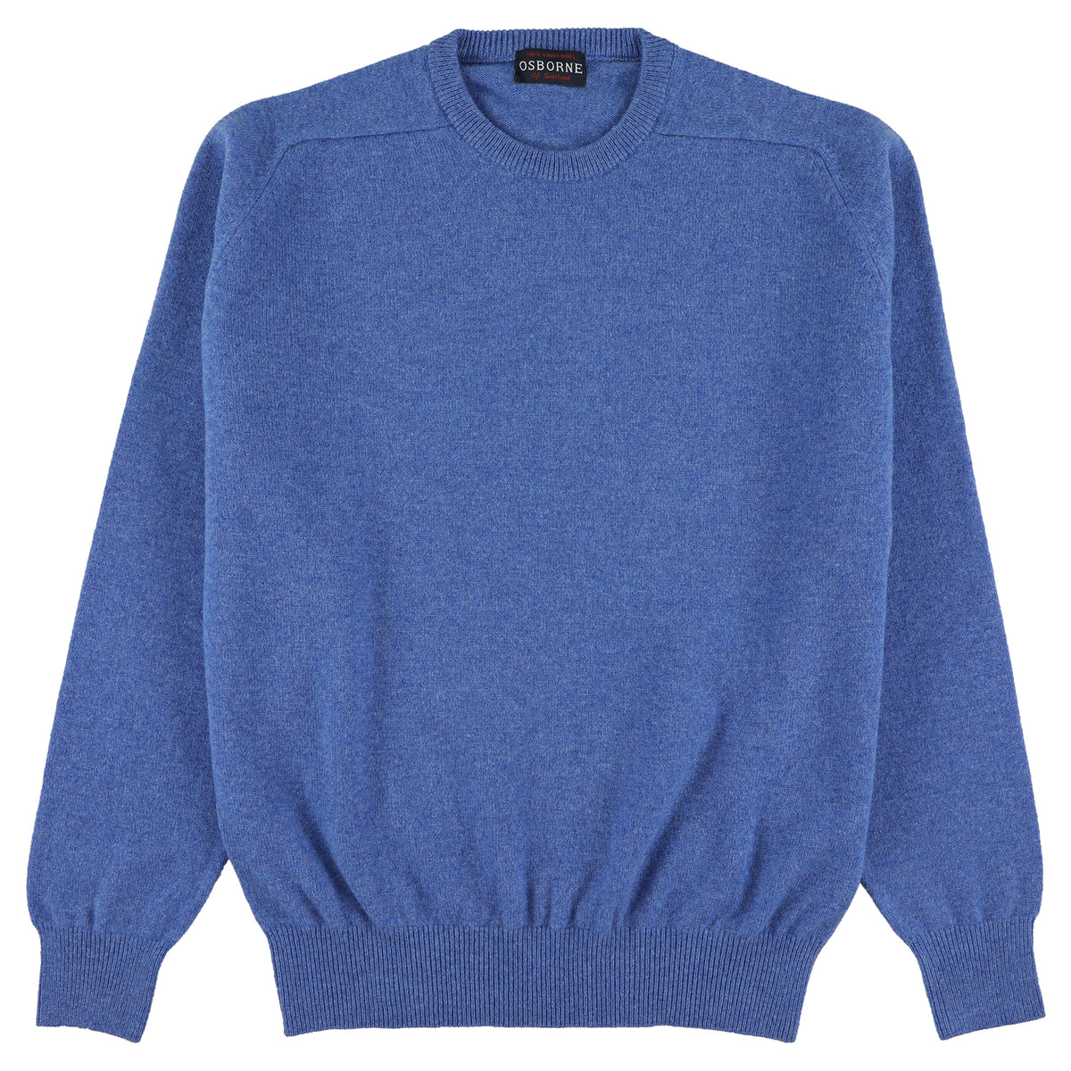 "Lambswool crew neck ""River"""