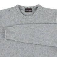 "Lambswool molted crew neck ""Rivvo"""