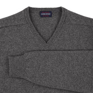 "Lambswool V neck ""Cliff"""