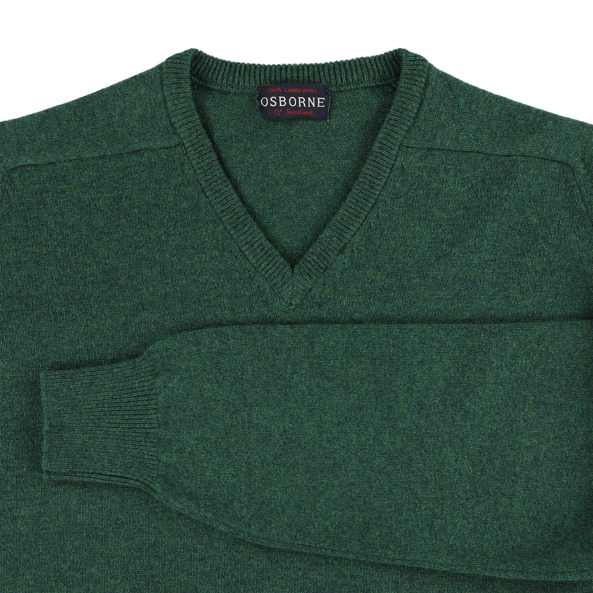 "Lambswool V neck ""Cossack"""