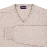 "Lambswool V neck ""Granary"""