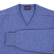 "Lambswool V neck ""Jeans"""