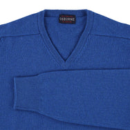 "Lambswool V neck ""Military"""