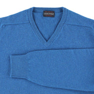 "Lambswool V neck ""Neptune"""