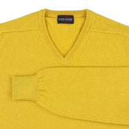 "Lambswool V neck ""Pamplemousse"""