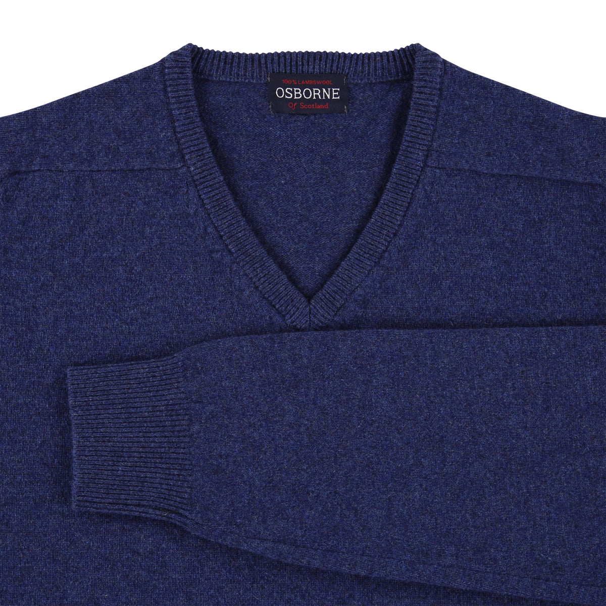 "Lambswool V neck ""Rhapsody"""