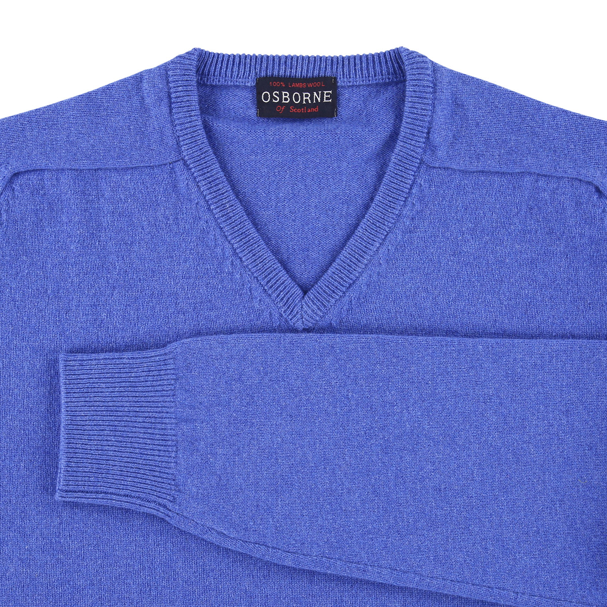 "Lambswool V neck ""Tahiti"""