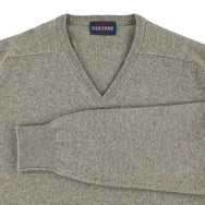 "Lambswool V neck ""Vole"""