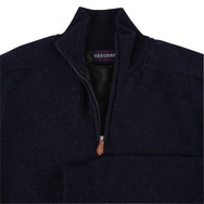 "Windstopper zip neck ""Indigo"""