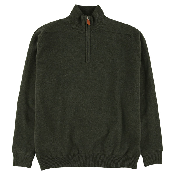 "Windstopper zip neck ""Seaweed"""