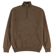 "Windstopper zip neck ""Tobacco"""