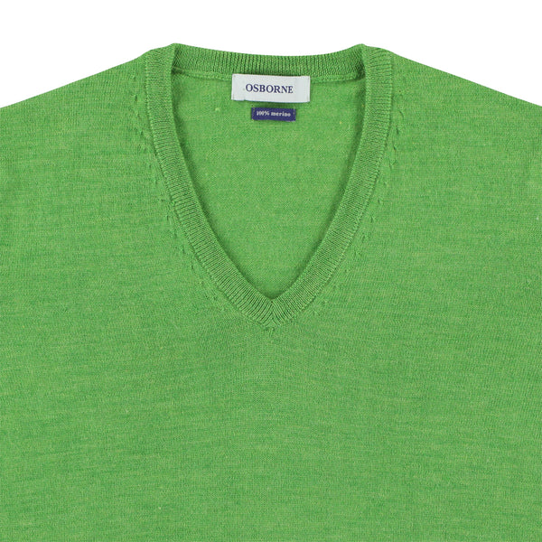 "Women merino V-neck ""Fairwell"""