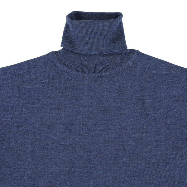 "Merino roll neck ""Atlantic"""