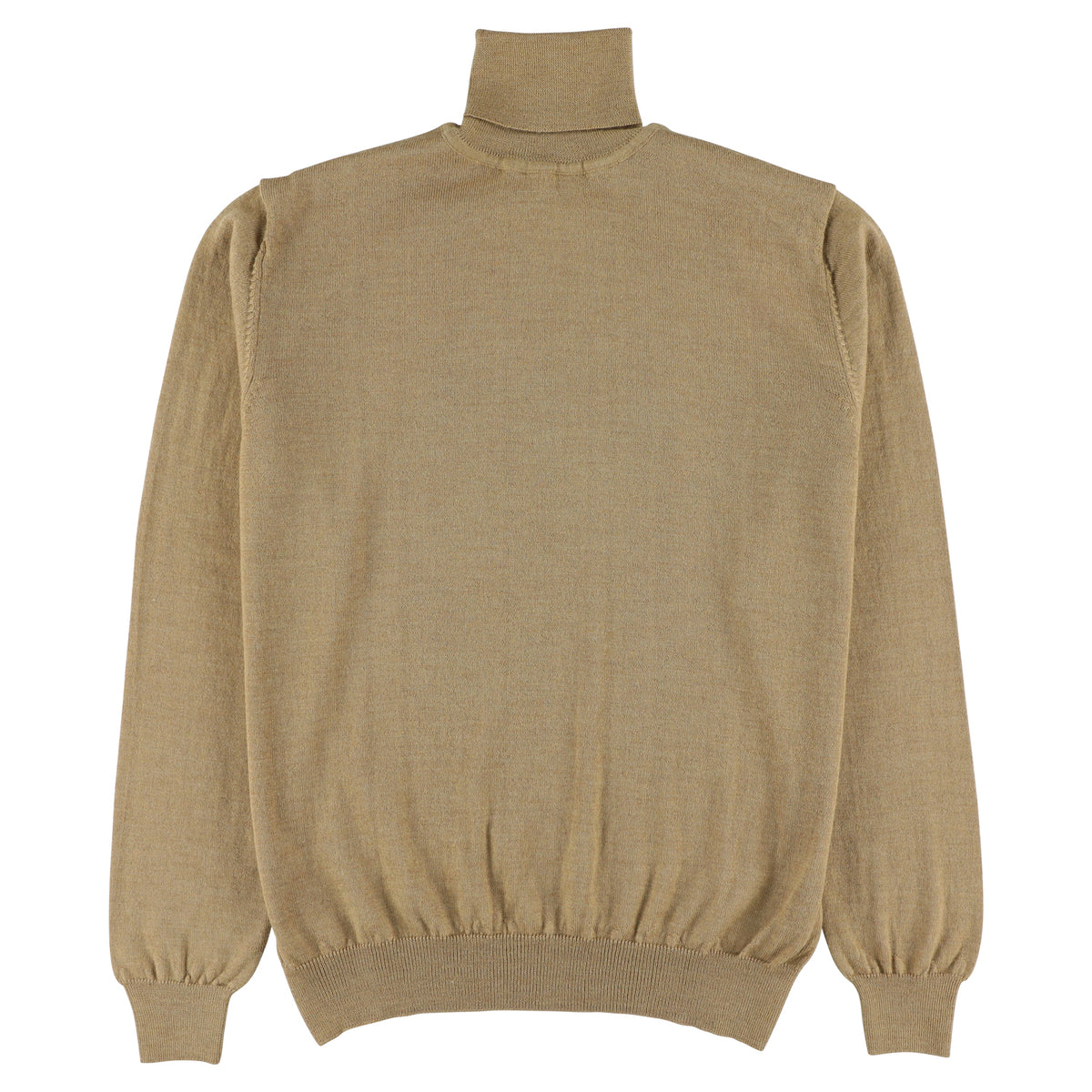 "Merino roll neck ""Camel"""