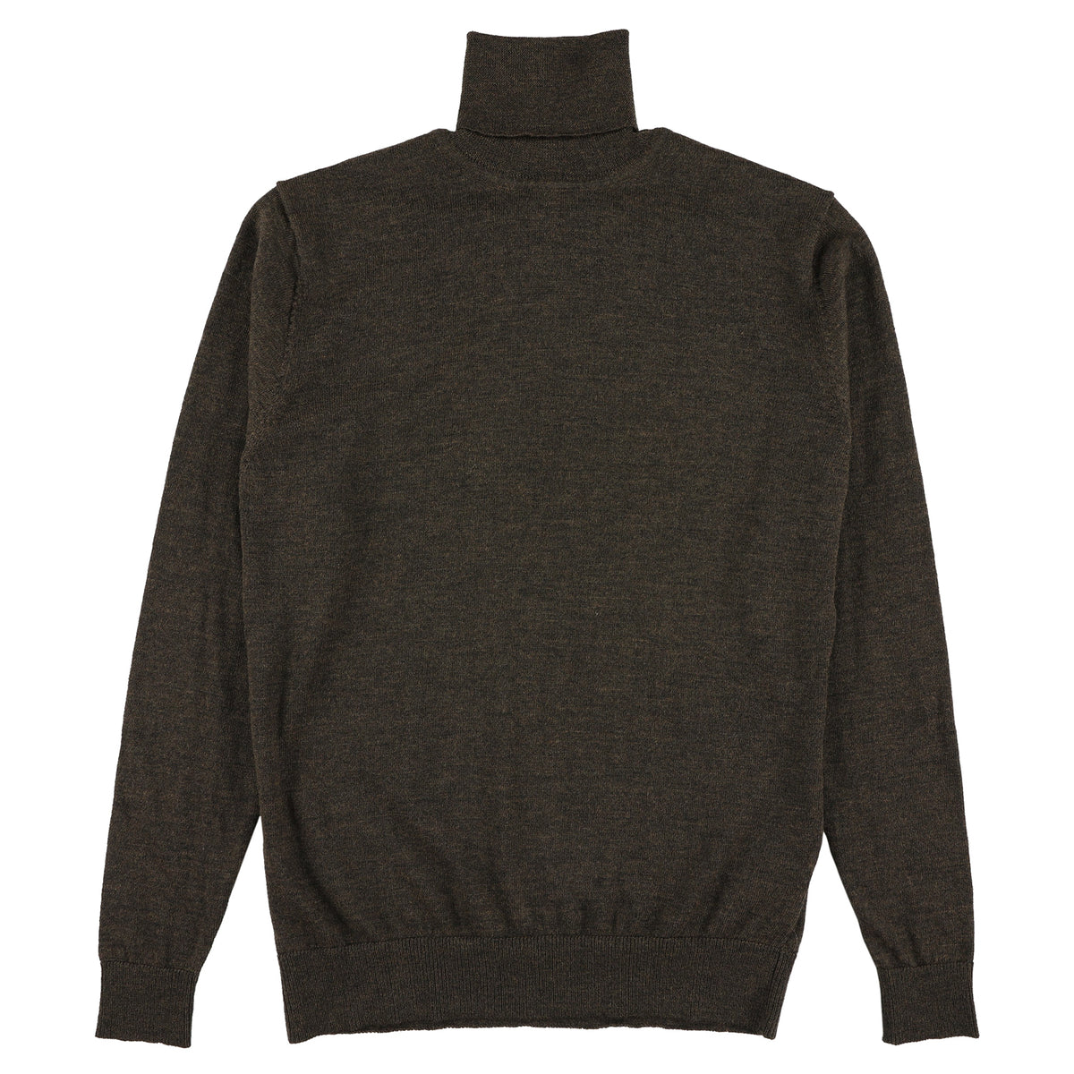 "Merino roll neck ""Charcoal"""