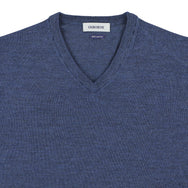 "Merino V-neck ""Atlantic"""