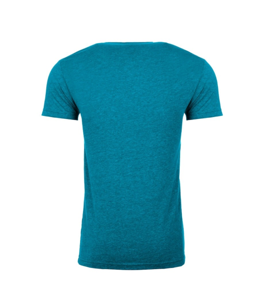 Men's Next Level 9R 9Round Circle Logo Tee (Teal)