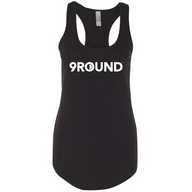 Women's Next Level Logo Tank - Black