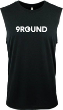 Men's Next Level 9Round Sleeveless - Black