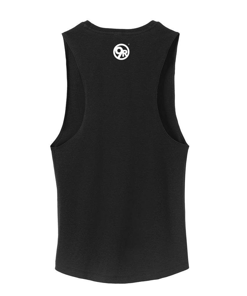 Women's District Made Sore Today, Strong Tomorrow Tank - Black