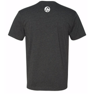 Men's Next Level Stronger in 30 Tee - Charcoal Grey
