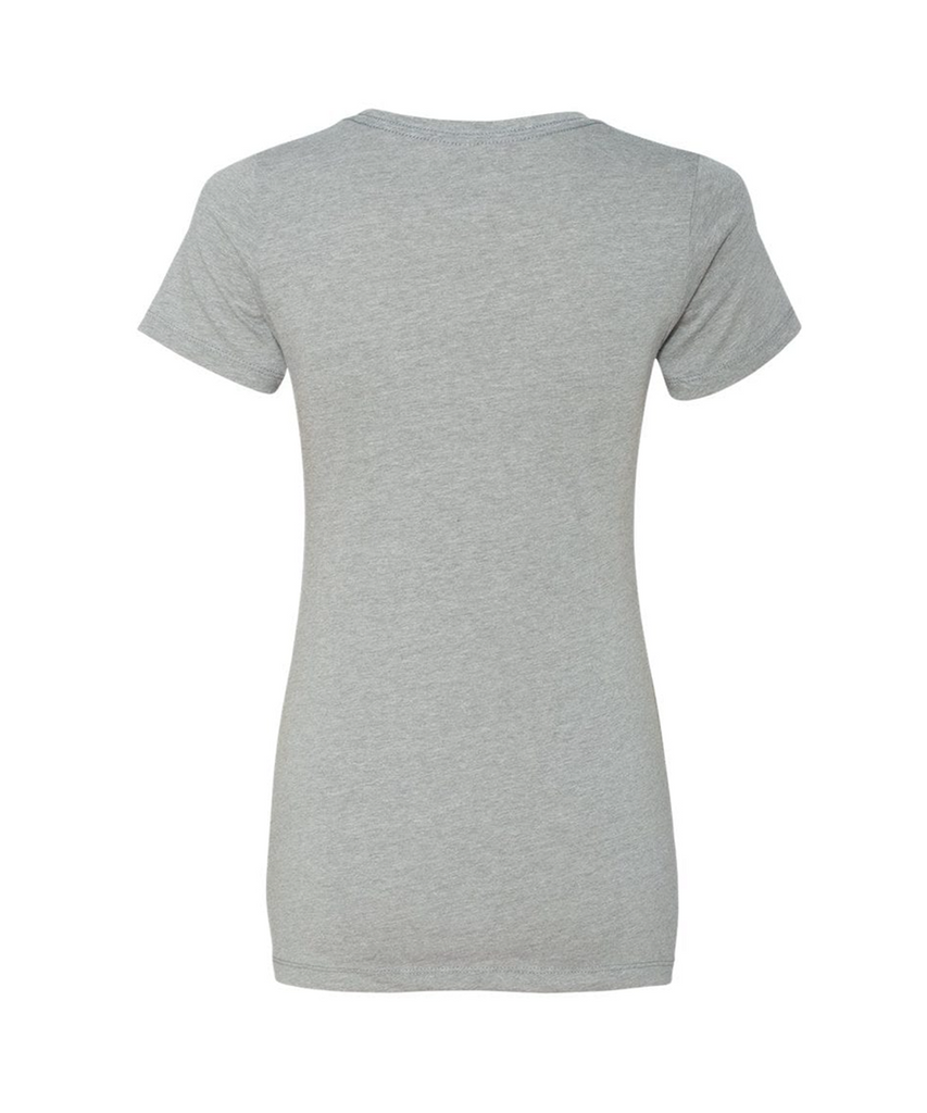 Women's Next Level Logo Tee - Grey