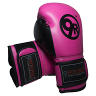 Classic 9Round Pink/Black Gloves