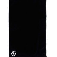 9R Black Towel