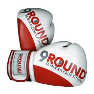Signature 9Round Red/White Gloves