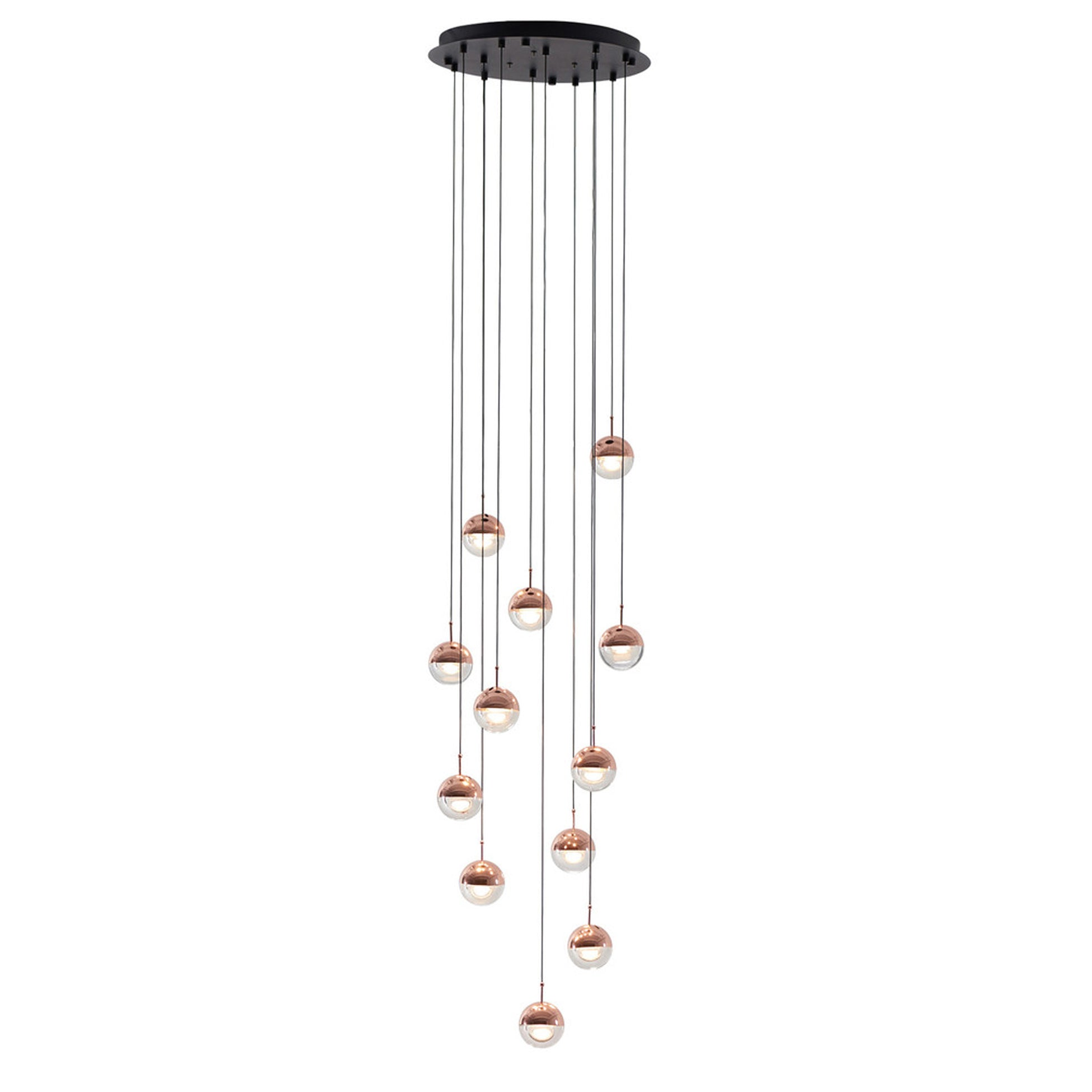 Dora 12 Light Pendant -  Copper