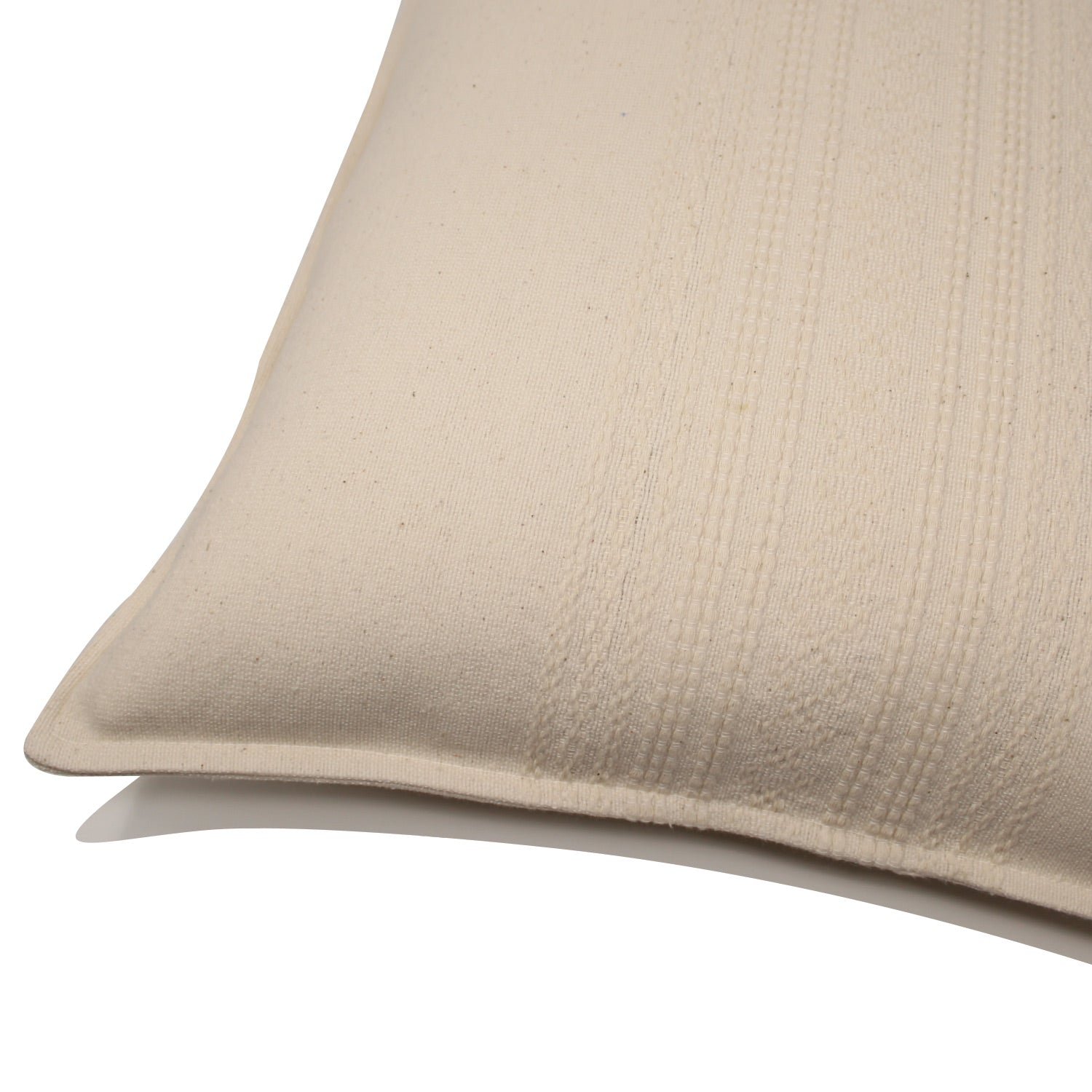 Alban Handwoven Pillow - Cream