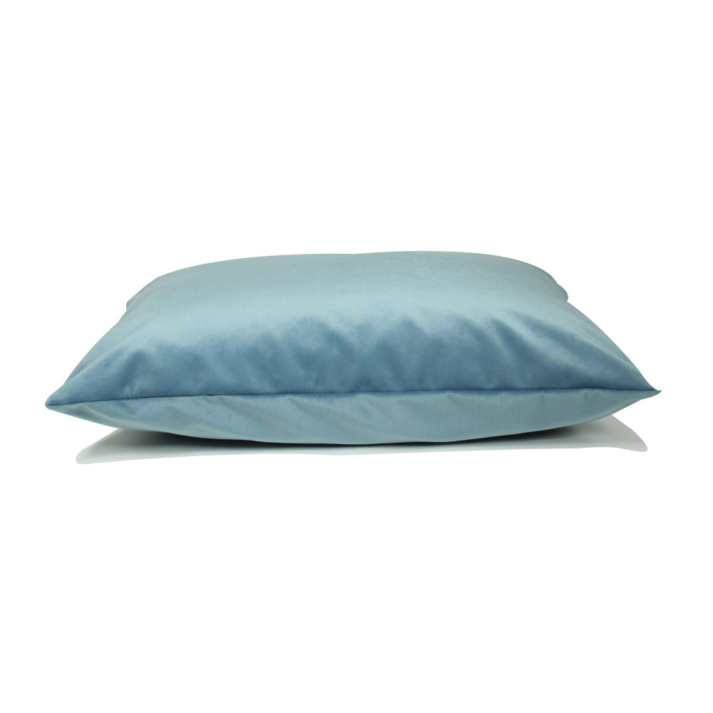 "Alma Pillow - Light Blue - 20"" x 14"""