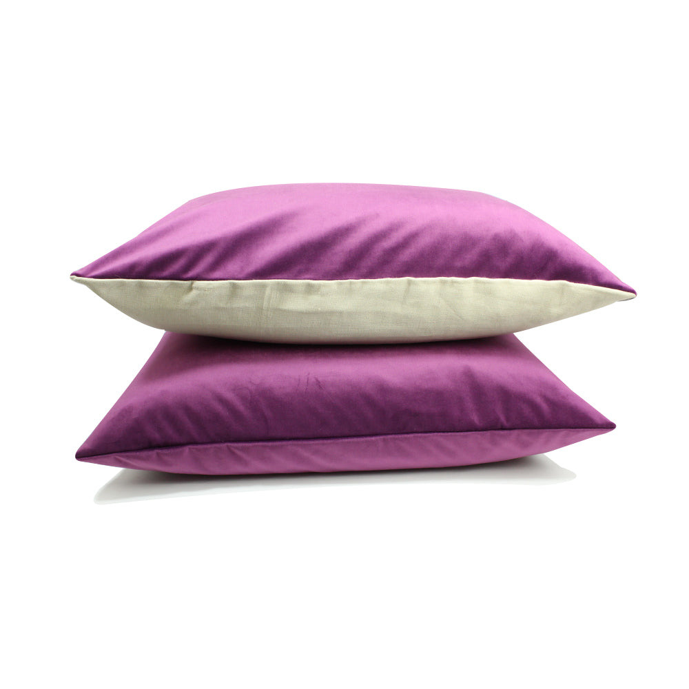 "Alma Pillow - Purple - 20"" x 14"""