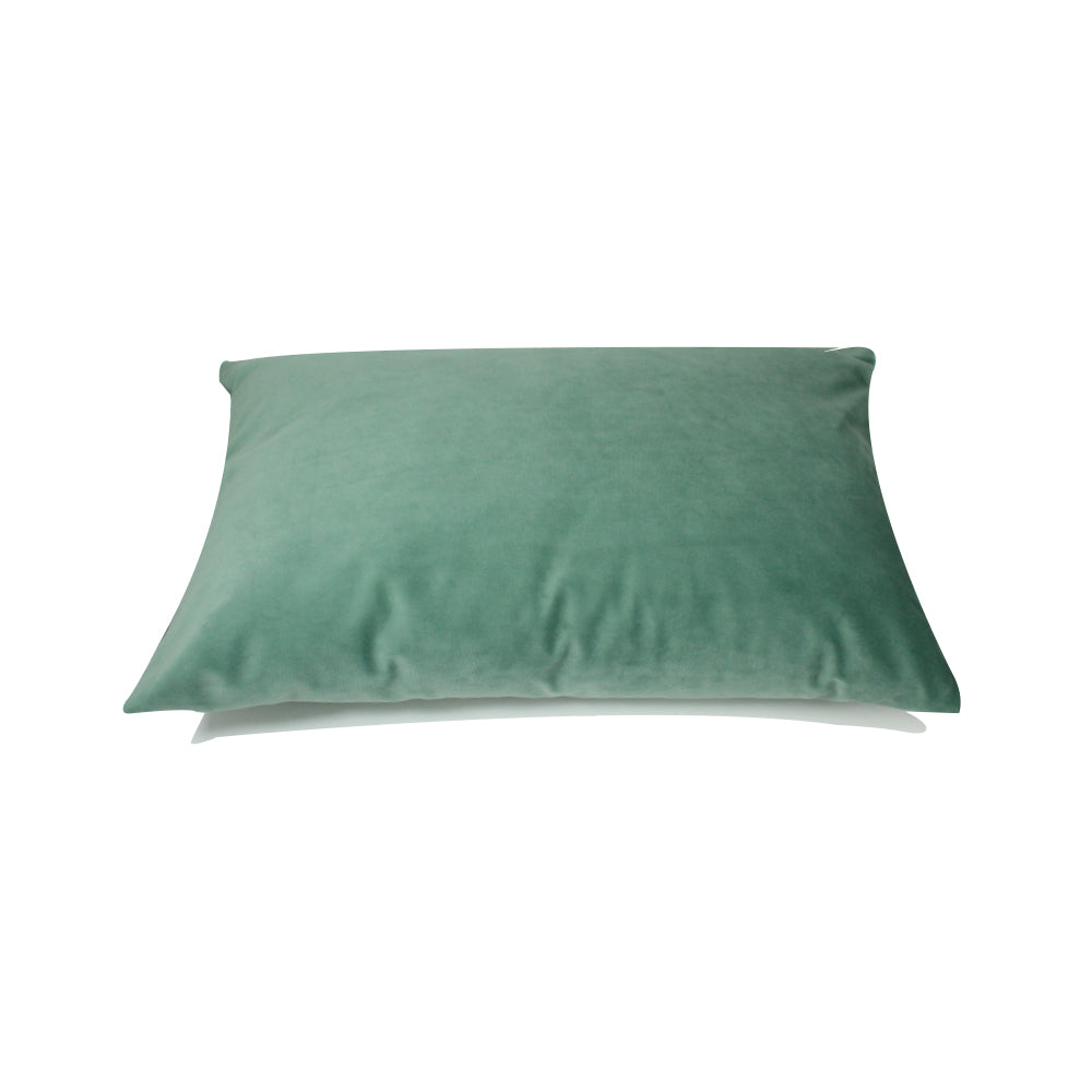 "Alma Pillow - Seafoam Green - 20"" x 14"""