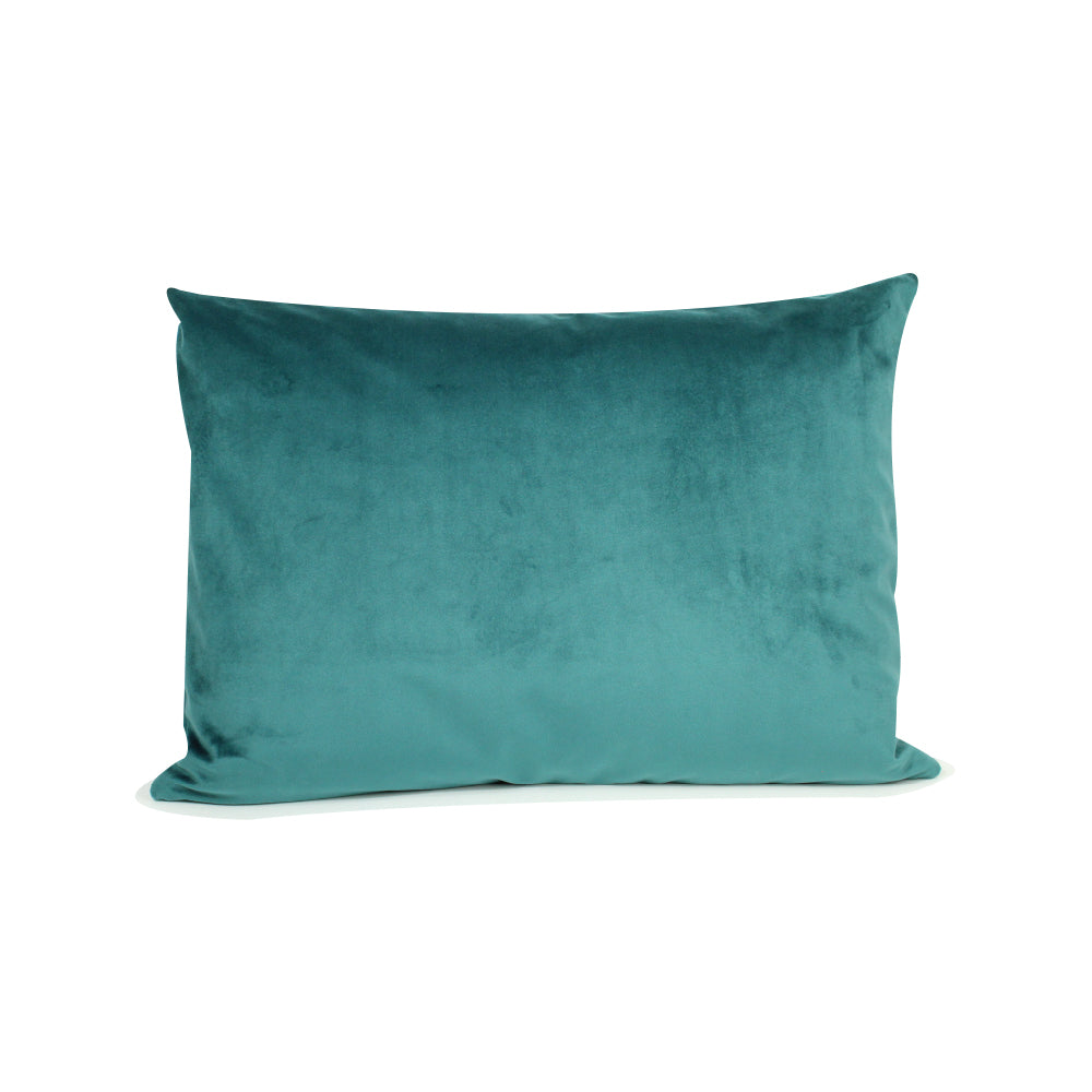 "Alma Pillow - Teal - 20"" x 14"""