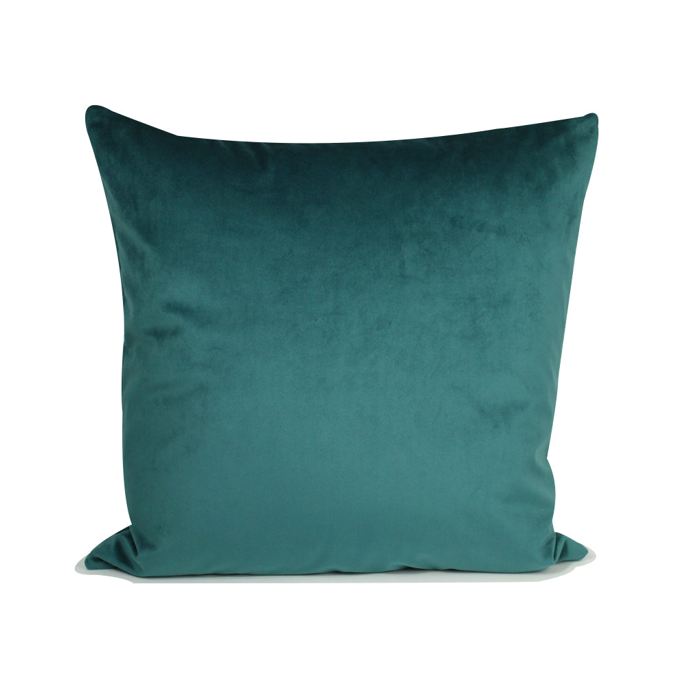 "Alma Pillow - Teal / Cream - 20"" x 20"""