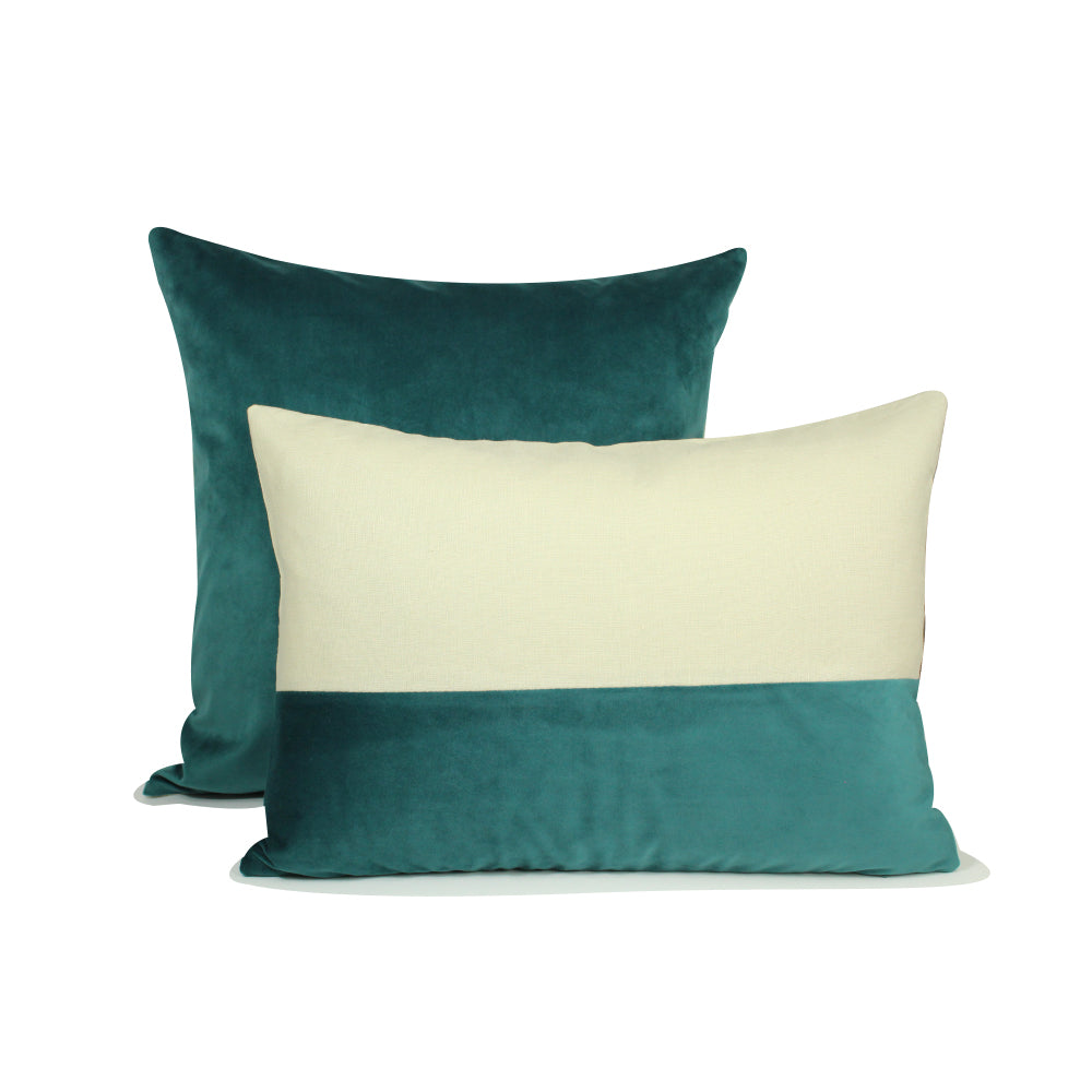 "Alma Pillow - Teal - 20"" x 20"""