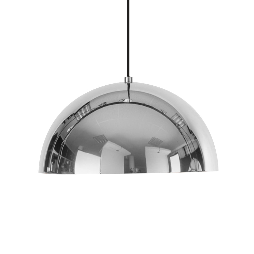 Dome Pendant - Chrome - Large