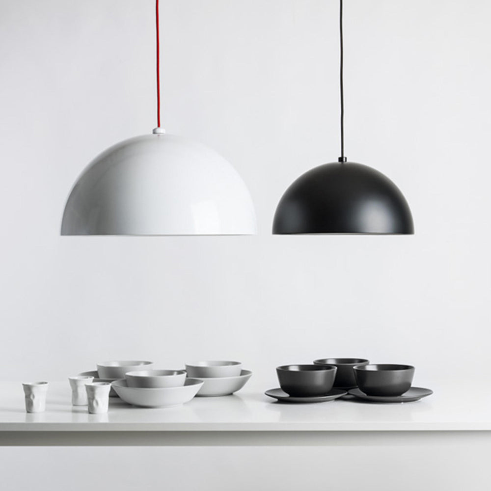 Dome Pendant - Matte Black - Small