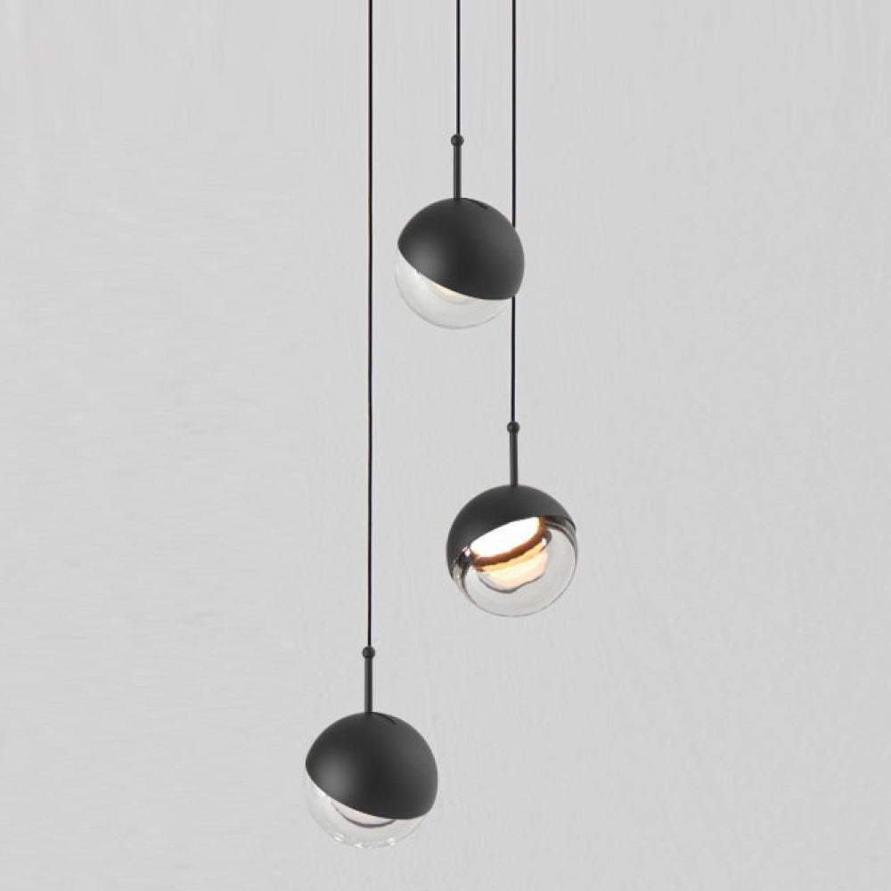 Dora Mini Pendant - Single -  Black