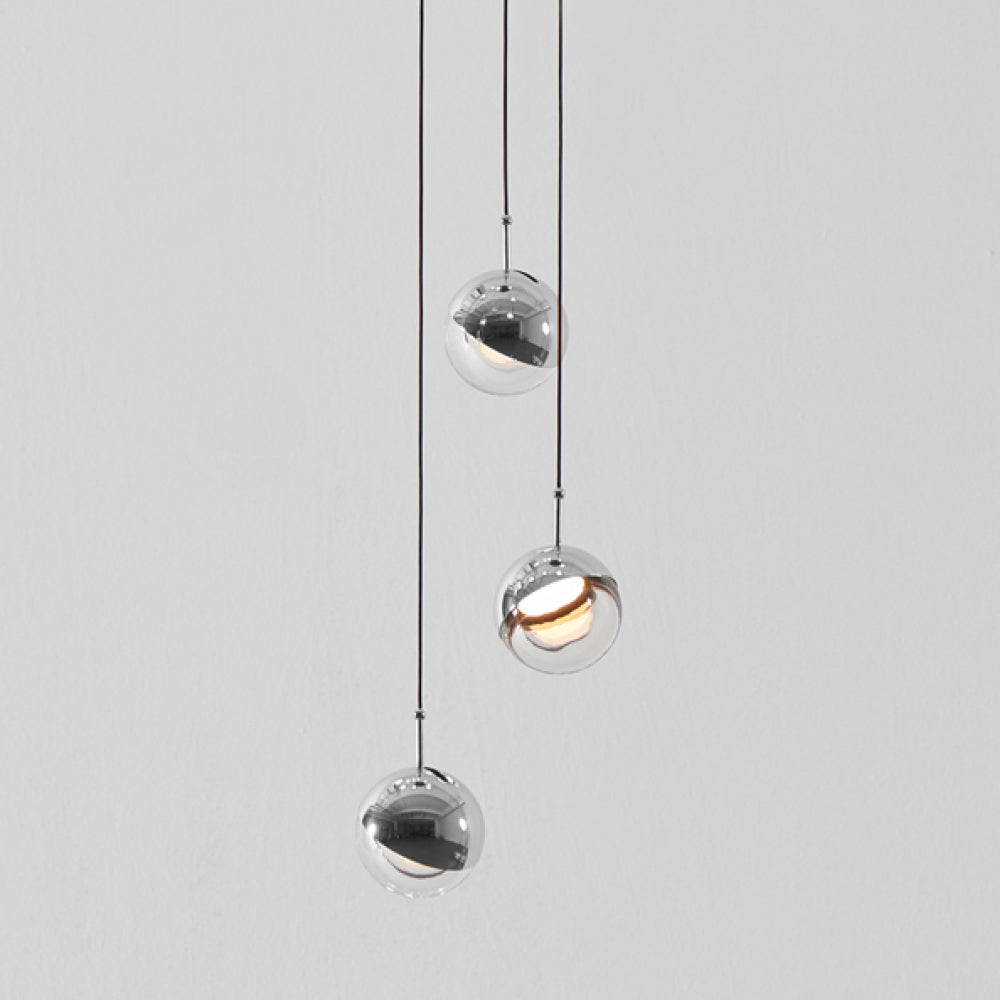Dora Mini Pendant - Single -  Chrome