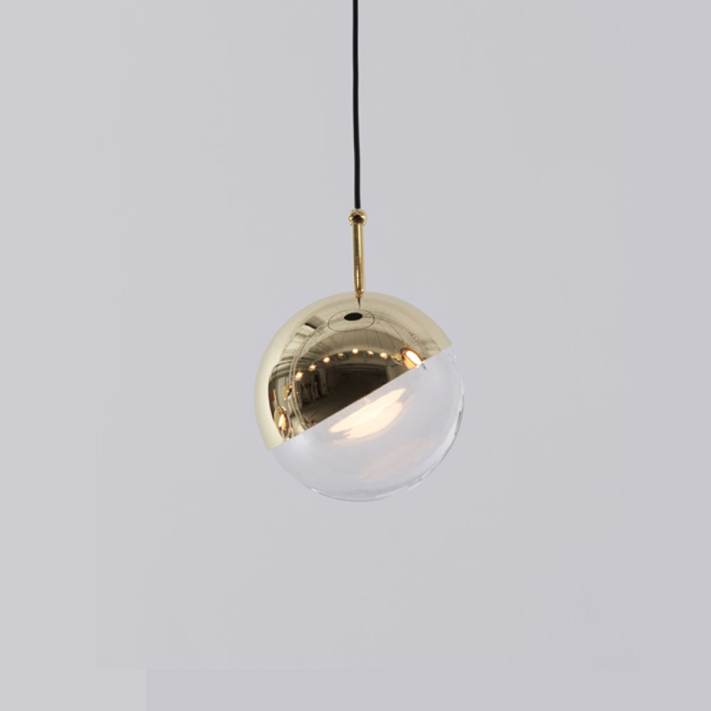 Dora Mini Pendant - Single -  Brass