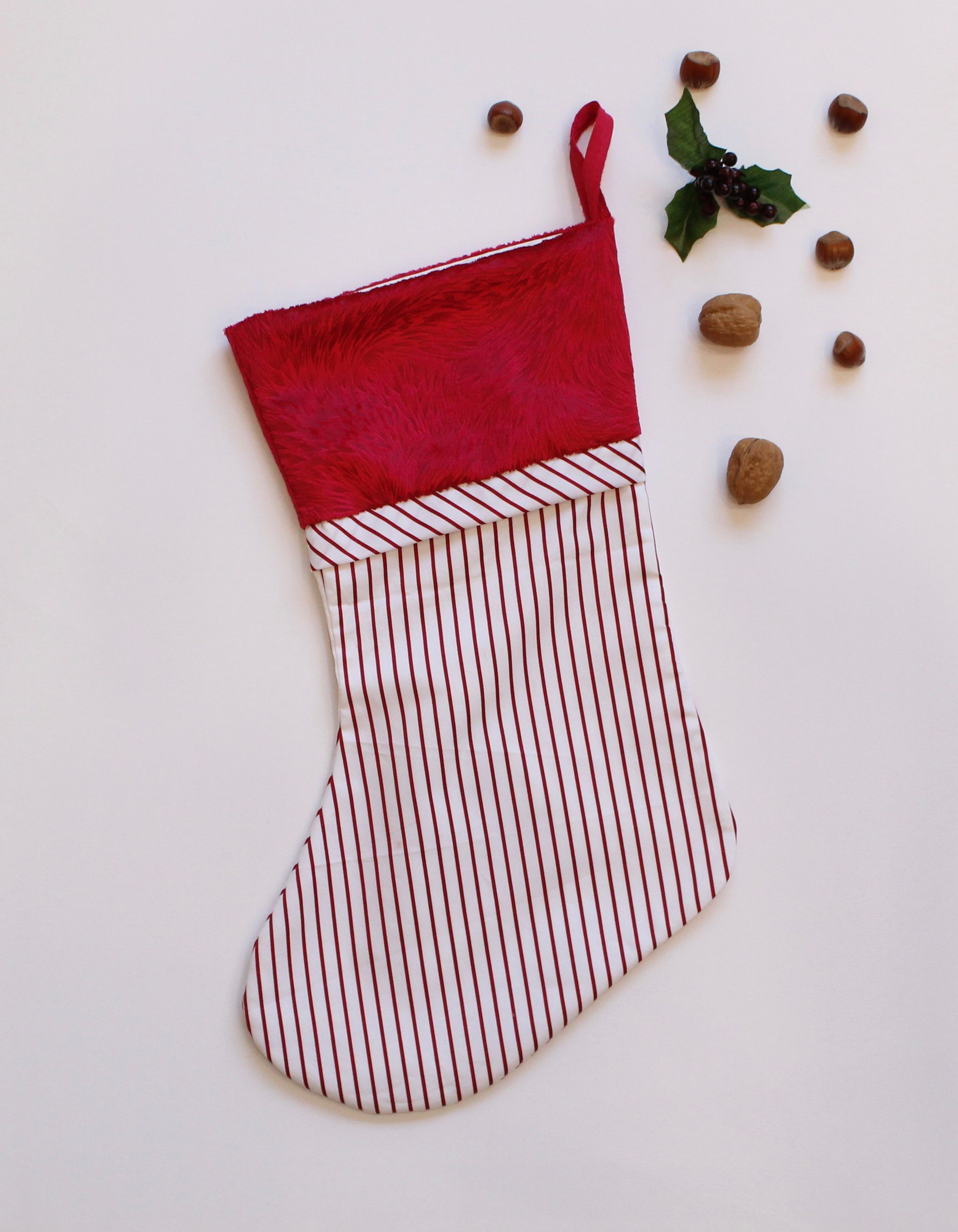 Holiday Stockings - Candy Canes
