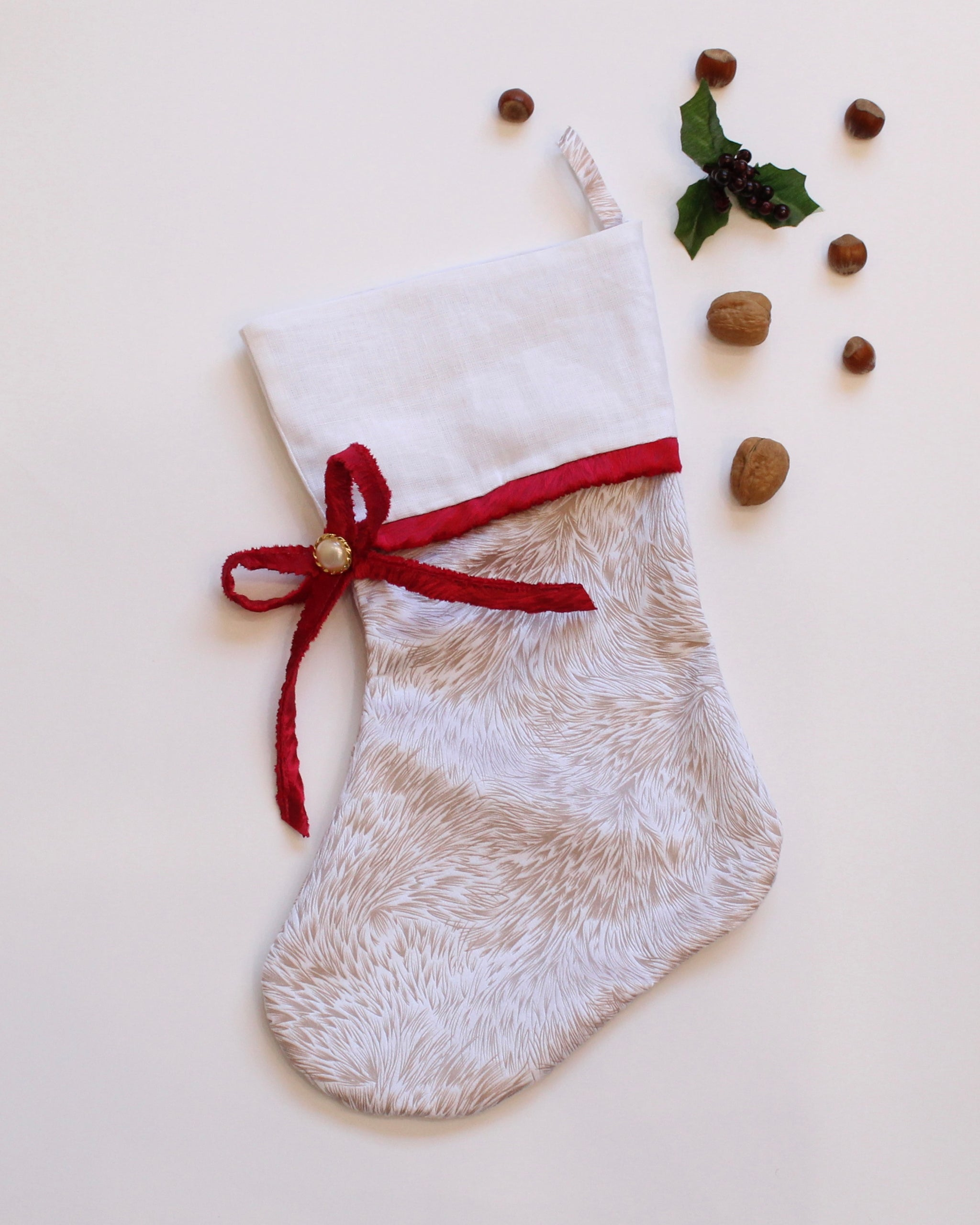 Holiday Stockings - Rudolph
