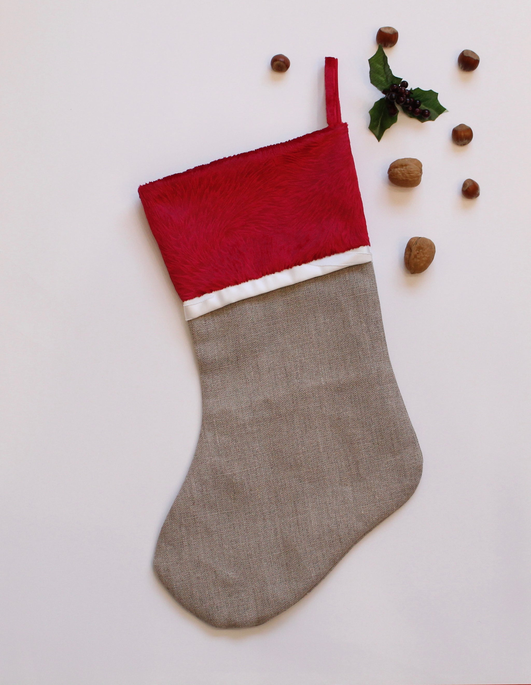 Holiday Stockings - Gingerbread