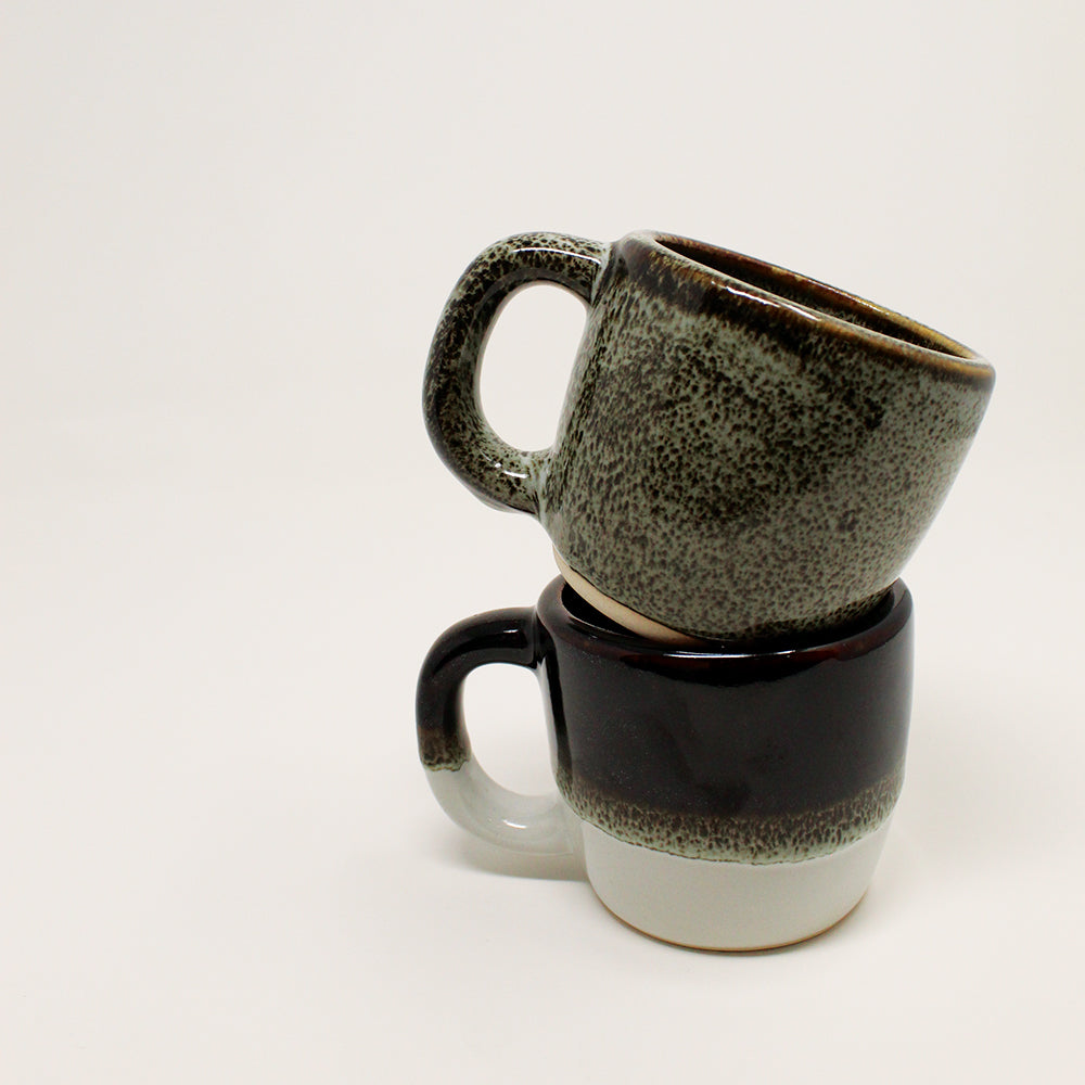 Coffee Cup - Dark Brown Blush