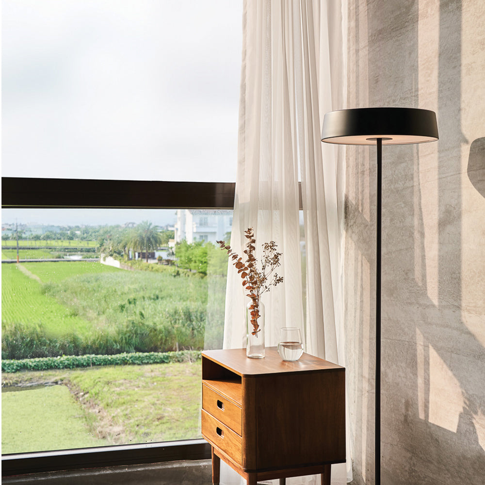 China LED Floor Lamp - Matte Black
