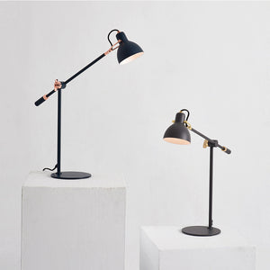 Laito Gentle Table Lamp - Navy + Copper